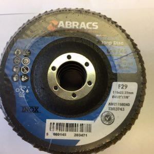ABRACS pack of 5 flap discs