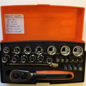 BAHCO small socket set (metric)